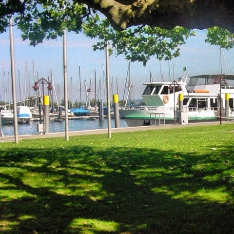 Beautiful Lake Constance (Bodensee) in Germany