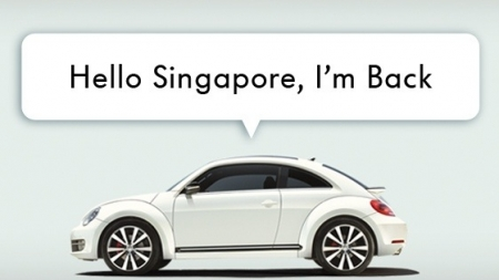 Say Hello To The New 21st Century Volkswagon Beetle!