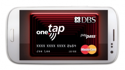 The Power To Pay With Your Phone With DBS one.tap