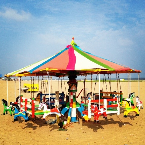 AspirantSG - A Weekday Stroll on Elliot Beach, Chennai
