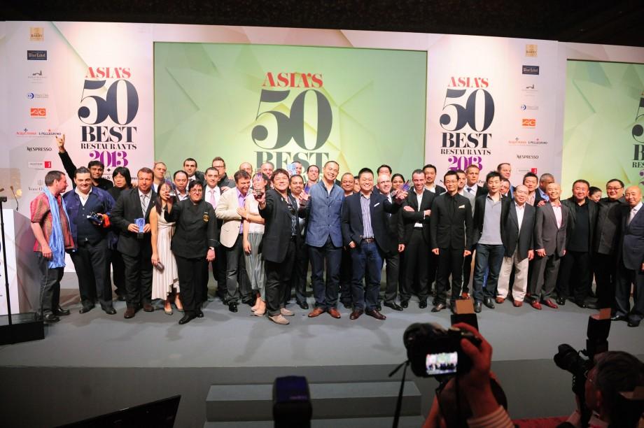 AspirantSG - Asia's 50 Best Restaurants Winners