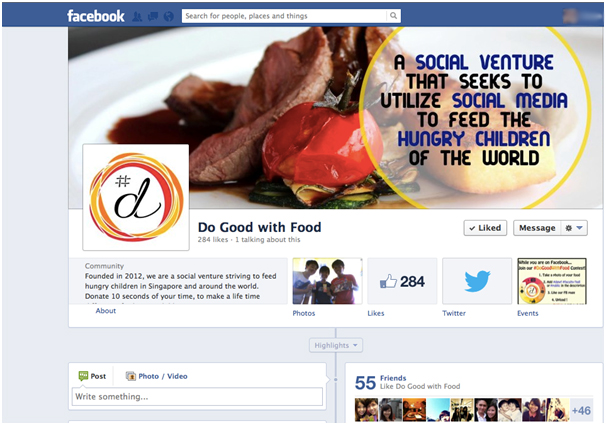 Do Good With Food Facebook