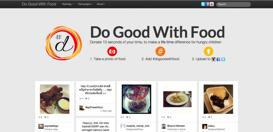 Do Good With Food Website