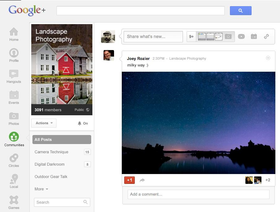 Google+ Communities – A Tab You Should Not Miss Out On
