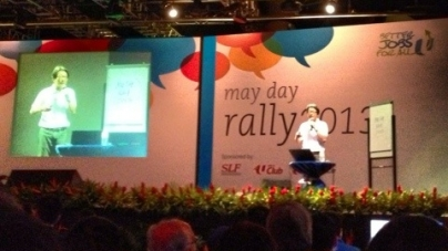 NTUC May Day Rally 2013 Afterthoughts Part 1
