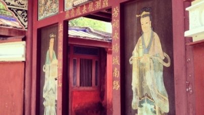 Wu Fei Miao (五妃廟) – Temple Of The Five Concubines, Tainan