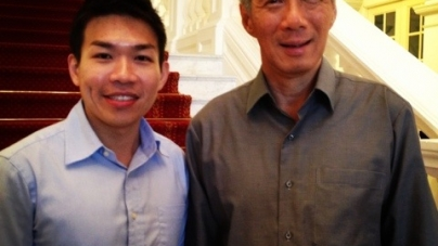 Tea With Prime Minister Lee Hsien Loong At The Istana