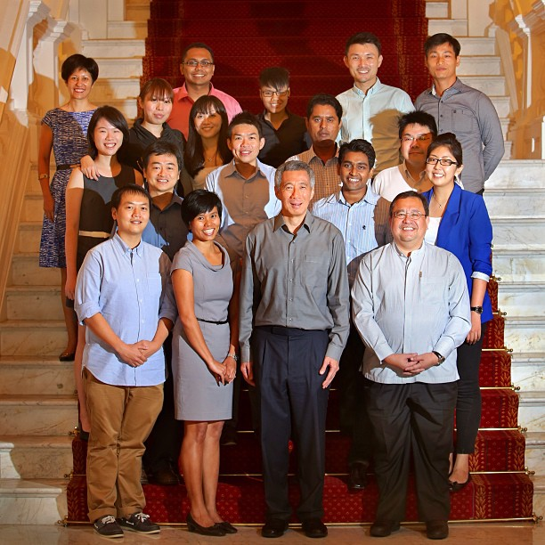 Photo with PM Lee