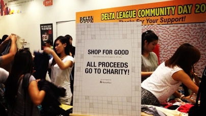 Shop for Good Charity Flea Market at Scape A Success!