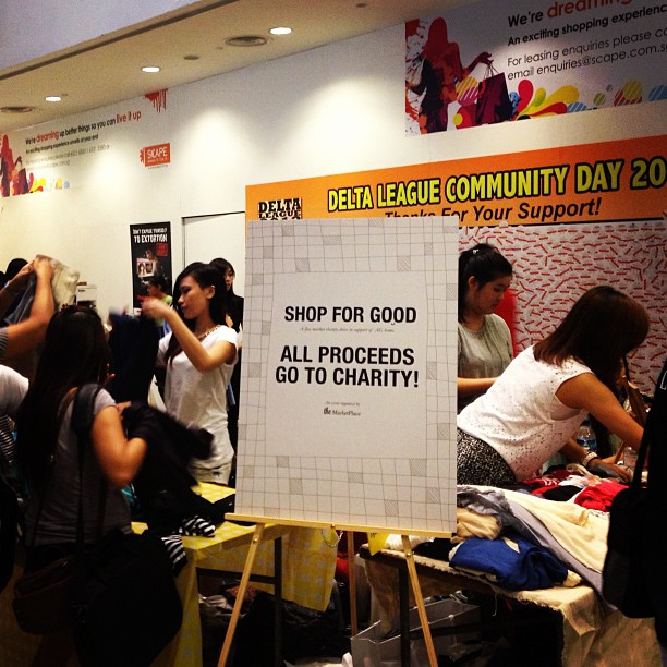 Shop For Good Charity Flea Market At Scape