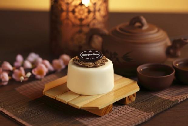 Häagen-Dazs Ice Cream Mooncakes Vanilla