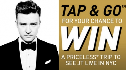 Join #GivingTuesdaySG & Catch Justin Timberlake Live With MasterCard