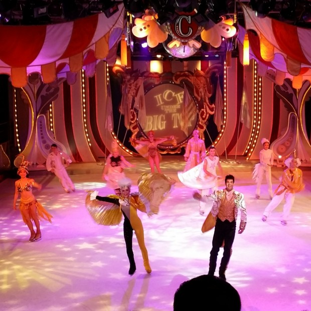 Royal Caribbean Mariner Of The Seas Big Top Under The Ice Performance