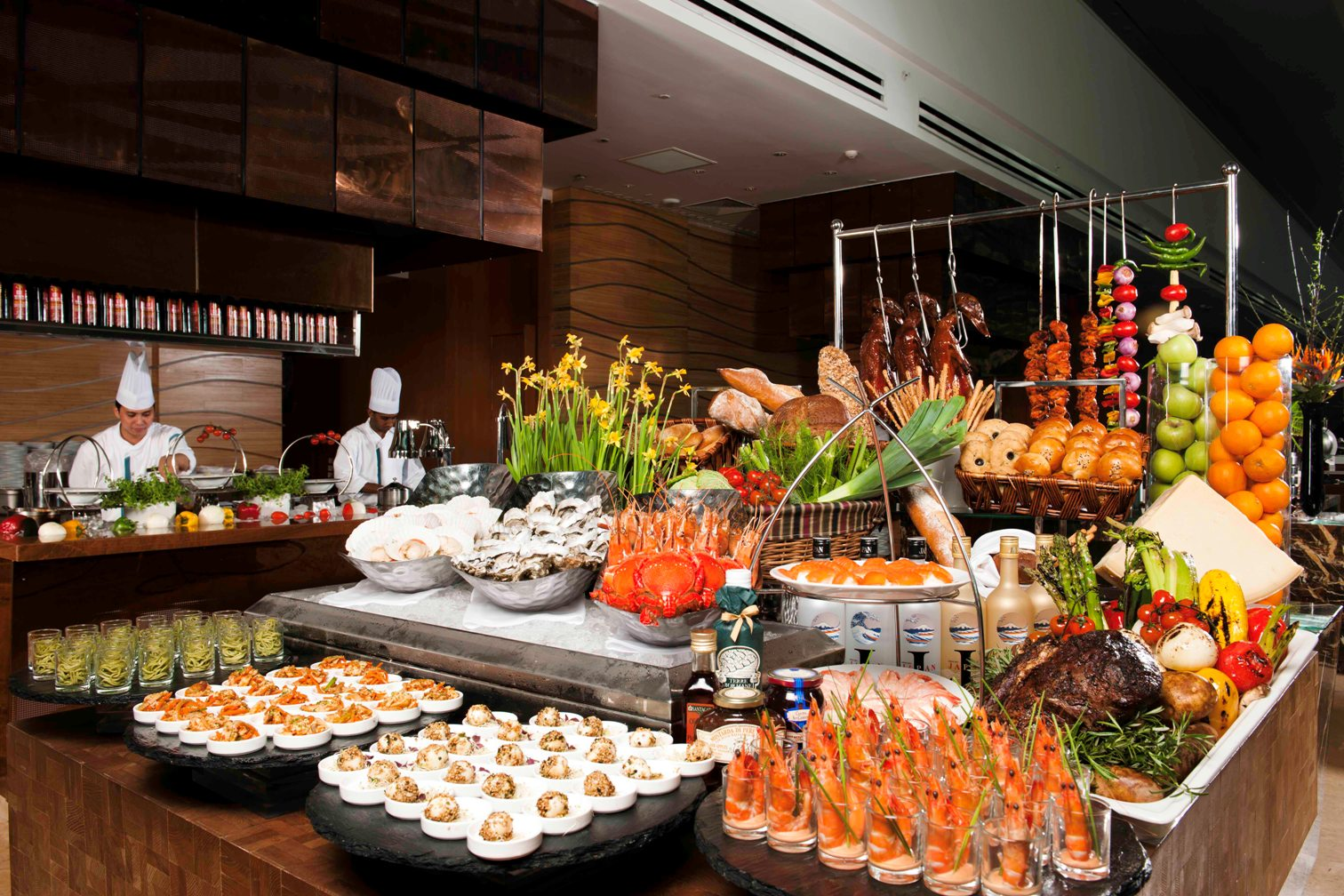 Top international buffets in singapore best hotel for Buffet cuisine