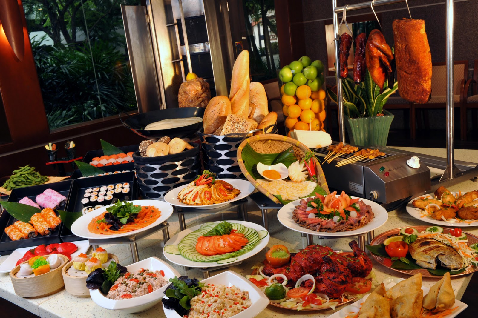 Best buffet restaurants in singapore top buffet places for Difference between dinner supper