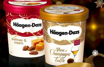 Häagen-Dazs Launches Exclusive New Flavours This Christmas!