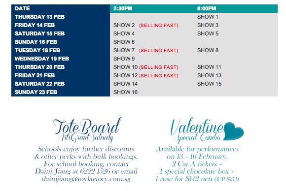 Romeo & Juliet Showtime - AspirantSG