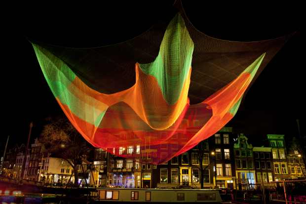 1.26 by Janet Echelman taken in Amsterdam - Photo Courtesy of Janusvanden Eijnden - AspirantSG