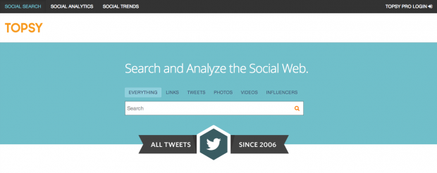 Topsy Search - AspirantSG
