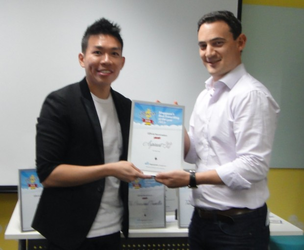 AspirantSG win 4th Travel Blog In Singapore