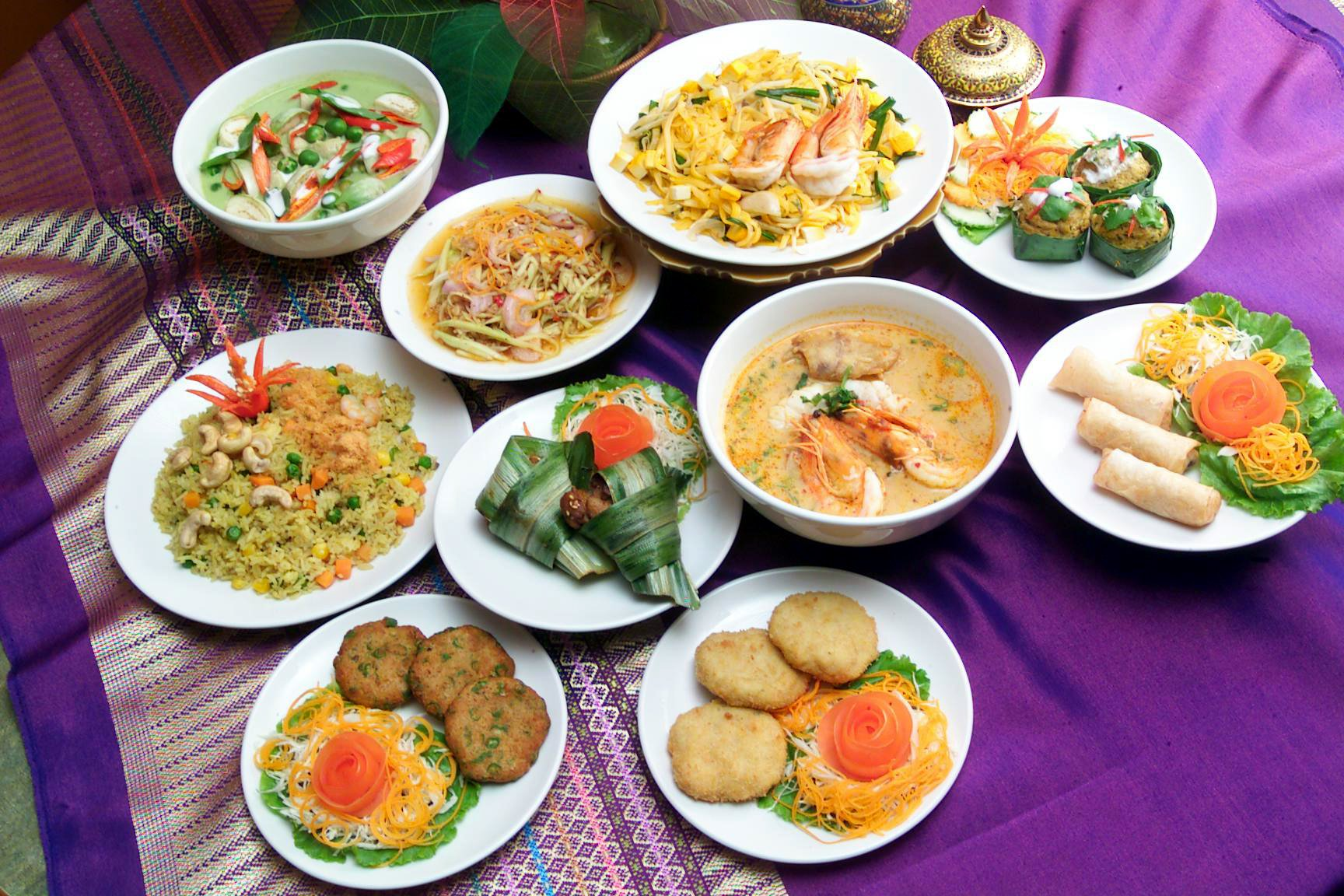 Top thai restaurants for best siam cuisine in singapore for Asian cuisine indian and thai food page