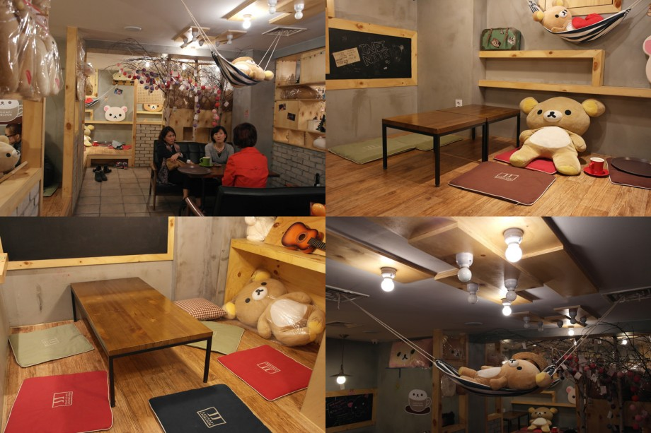 Capi Capi Loom Loom (Rilakkuma Cafe) Seoul Korea - AspirantSG