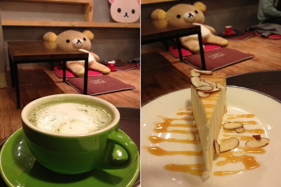 Capi Capi Loom Loom (Rilakkuma Cafe) Latte Cakes - AspirantSG