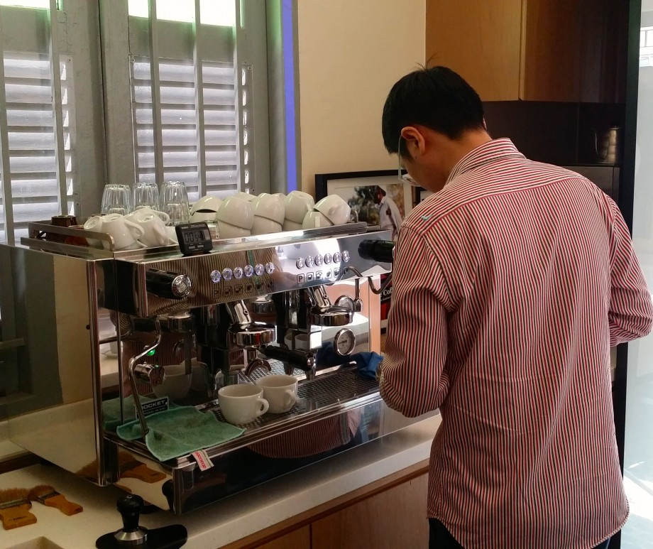 Handling Coffee Equipments At C-Platform - AspirantSG