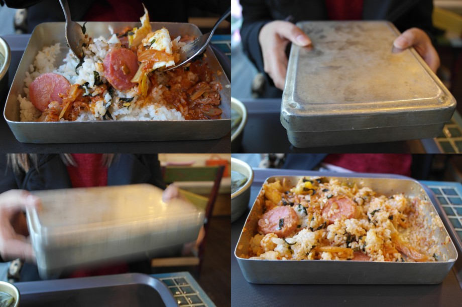 Miss Lee Cafe Metal Lunch Boxes Seoul Korea - AspirantSG