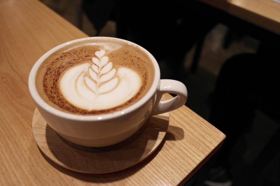 Mocha At Thanks Nature Cafe Seoul Korea - AspirantSG