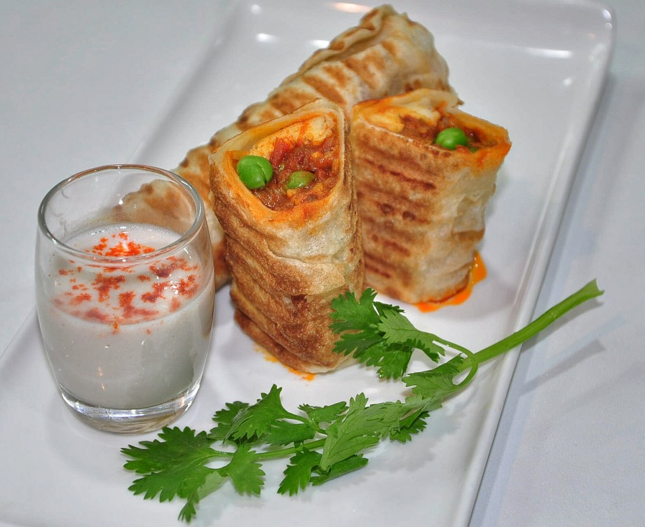 Grilled Roulade Prata from Suvai