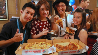 Domino's Pizza Reigns Biggest Match Of The Year With Popobe® Bola Bears!