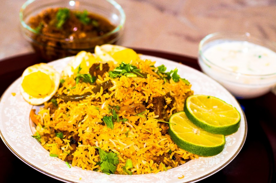 Mutton-Biriyani By Dr. Chef K. Damodaran.