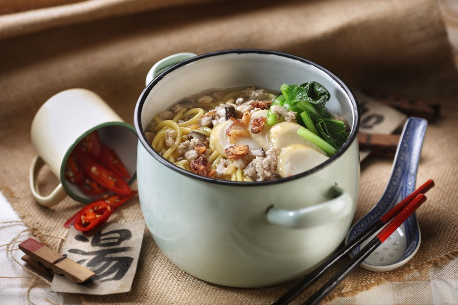 Rickshaw Noodles from Chinatown Food Street