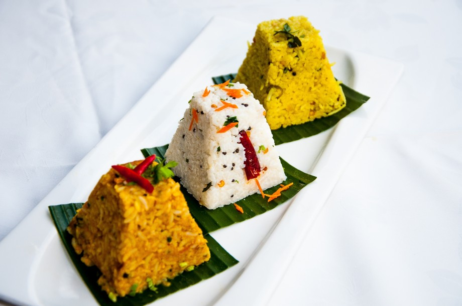 Trio of Assorted Rice by Dr Chef K Damodaran