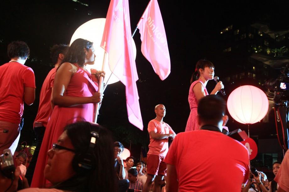 Janice Koh At Pink Dot SG 2014 - AspirantSG