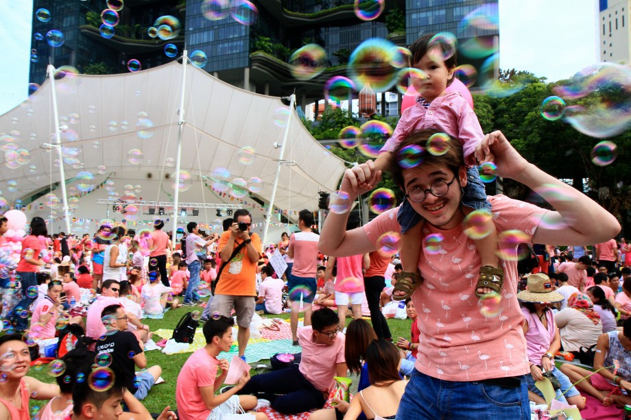 Family, Friends And Love At Pink Dot SG 2014 - AspirantSG