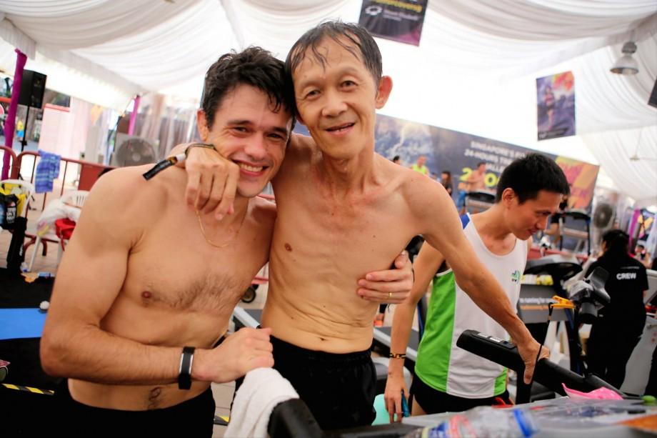 Run For Cover Skinny Determined Runner - AspirantSG