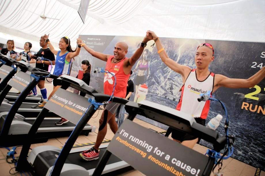 Victory For Running For Cover Runners - AspirantSG