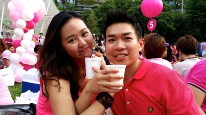 #PinkDotSG 2014 Shines With 26,000 Friends, Family & Lovers