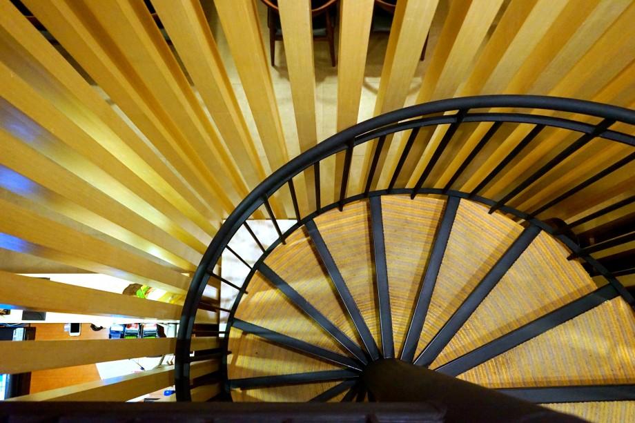 Circular Stairway Honzen - AspirantSG