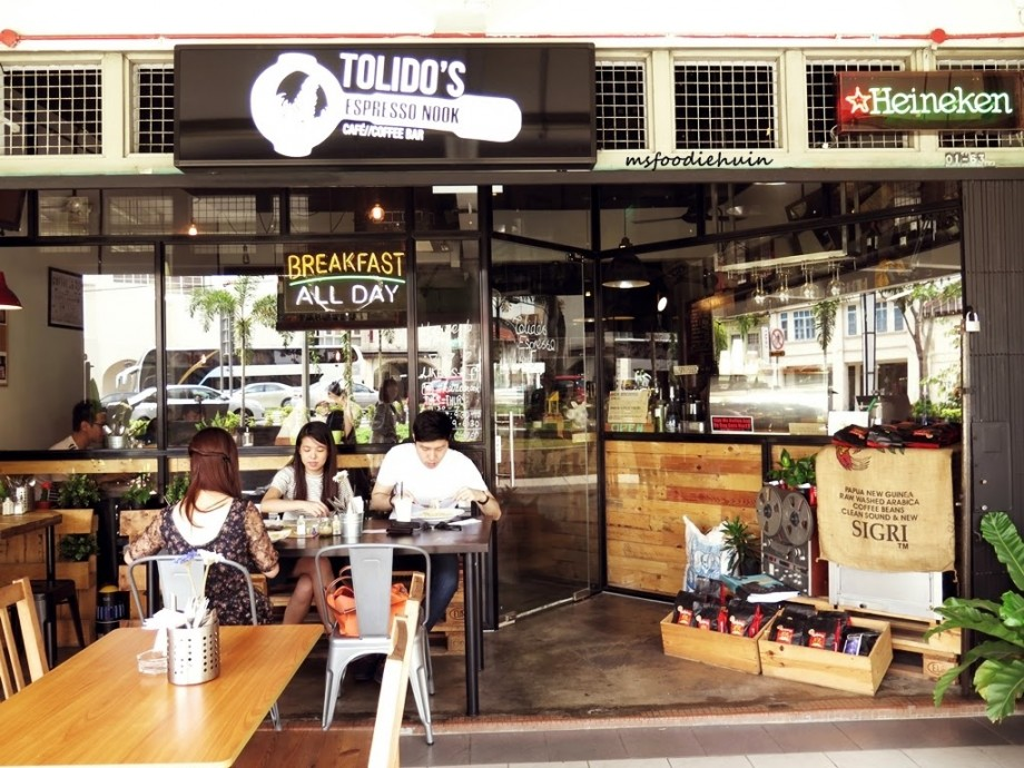 Tolido's Espresso Nook Singapore - AspirantSG