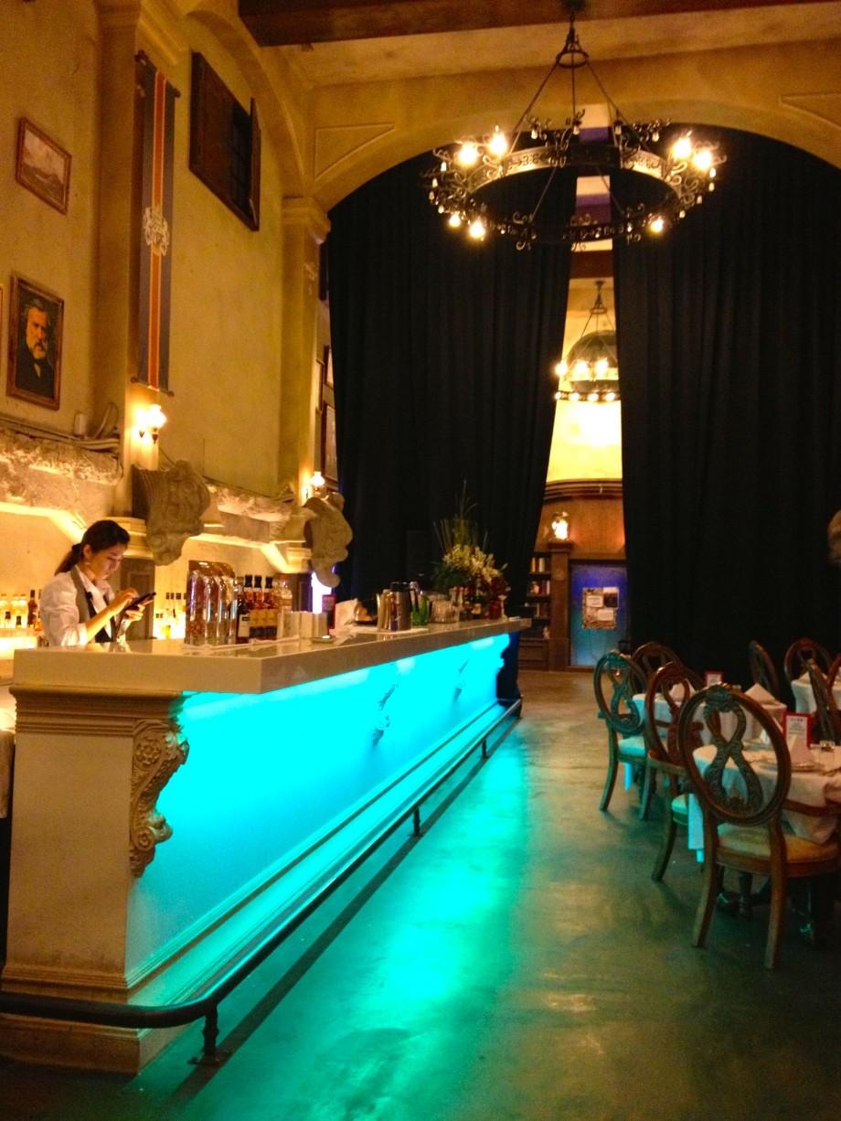 Bar Counter Deja Vu Restaurant Taipei Taiwan - AspirantSG