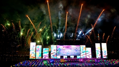 Singapore NDP 2014 Part 3 – Grand Show At Floating Platform