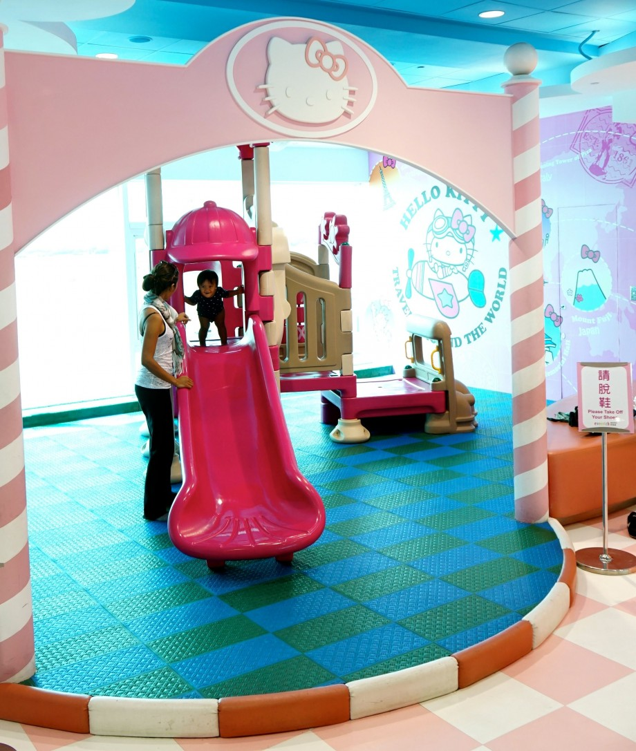 EVA Air Hello Kitty Playground - AspirantSG