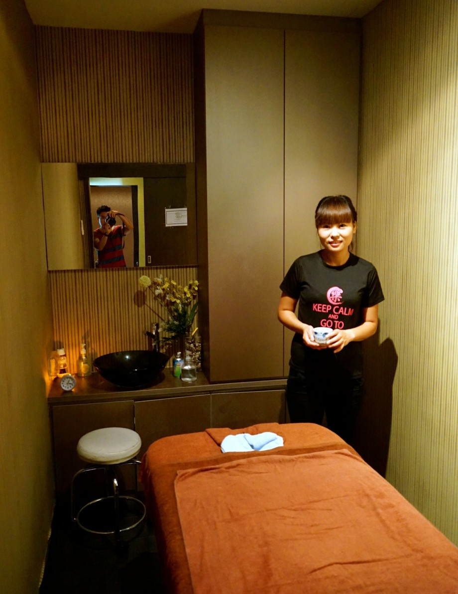 Post Massage Tea Le Spa - AspirantSG