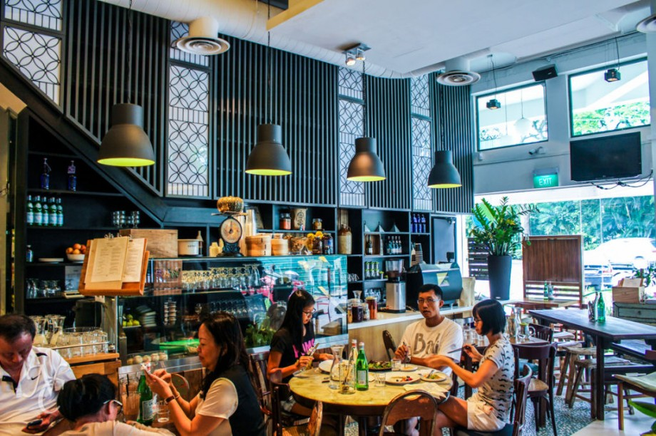 The Living Cafe & Deli Singapore - AspirantSG