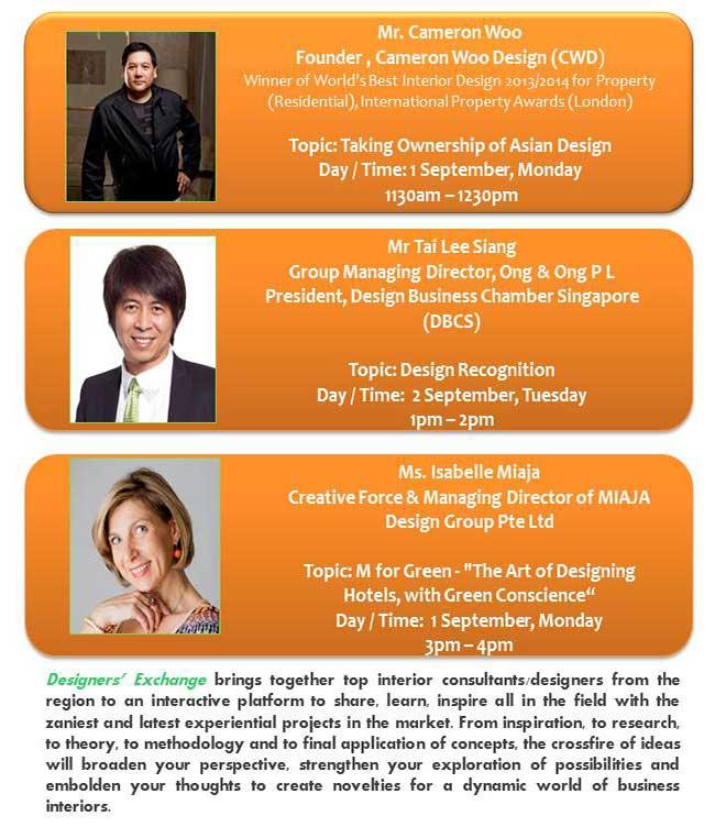 Interior Design Speakers BEX Asia 2014 - AspirantSG