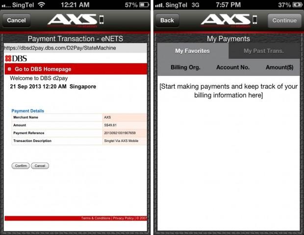 DBS Payment Confirmation - AspirantSG