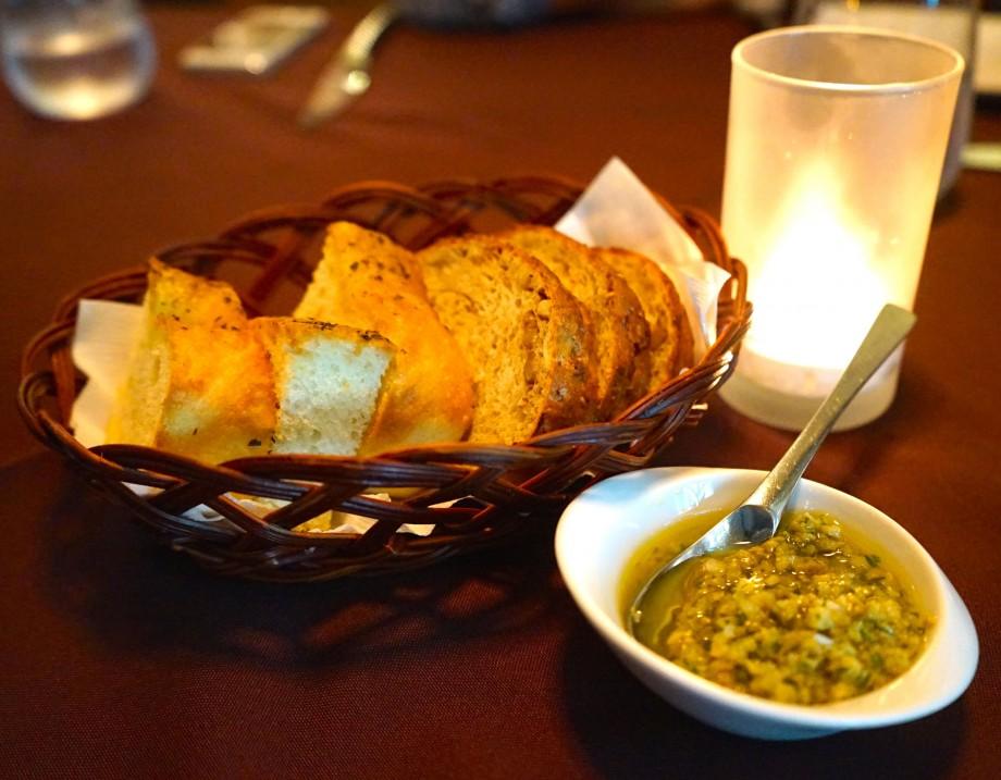 Bread At Arossa Wine & Grill Bar - AspirantSG